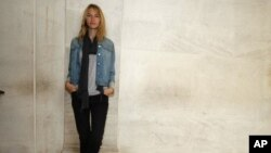 American model Sara Ziff poses for a photo in Paris. Ziff, who began her decade-long career at age 14, has created the Model Alliance, to improve the working conditions of models and convince the industry to take more care with its young. (File Photo - Se