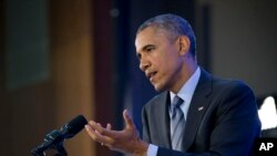 ABD-Afrika Liderleri Zirvesi'nin sonunda açıklama yapan Başkan Obama
