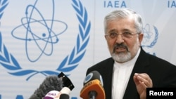 علی اصغر سلطانیه، نماینده ایران در آژانس بین المللی انرژی اتمی - جلسه شورای حکام در تاریخ ۶ ژوئن ۲۰۱۲