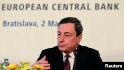 Chủ tịch Ngân hàng Trung ương châu Âu Mario Draghi.