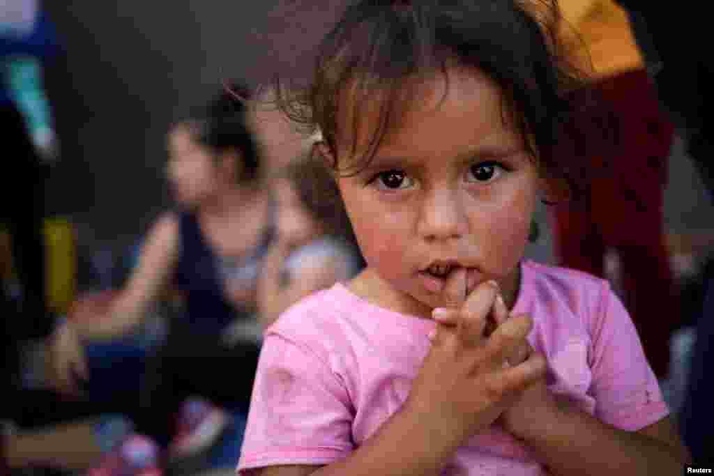Miqrantlar ABŞ - Meksika sərhədində