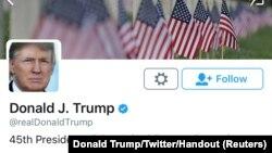 Twitter profil predsjednika SAD Donalda Trumpa