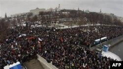 Протесты на Болотной площади 24 декабря 2011 г