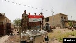 Irački vojnici u Faludži