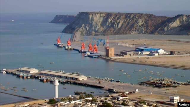 Khu cảng nước sâu Gwadar của Pakistan