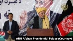 افغان صدر (ولسمشر) اشرف غني په طالبانو د تشدد د کمولو غږ کړی