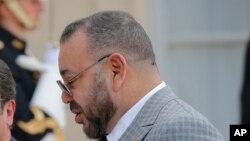 Le roi Mohammed VI du Maroc, 2 mai 2017.