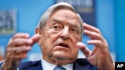 Le milliardaire américain George Soros a