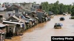 Vietnam ႏိုင္ငံအတြင္း မဲေခါင္ျမစ္၀ွမ္းတခု