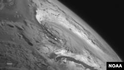 La tempête tropicale Arthur, qui doit se transformer en ouragan (Photo NOAA)