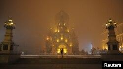 Một nhà thờ ở Hắc Long Giang, Trung Quốc.