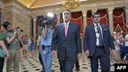 Спікер Палати представників Джон Бейнер після перемовин у Білому домі