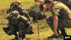 Các binh sĩ gìn giữ hòa bình ở Uganda