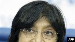 BM İnsan Hakları Yüksek Komiseri Navi Pillay