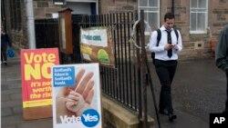 Na referendumu u Škotskoj pravo glasanja imaju svi gradjani stariji od 16 godina.