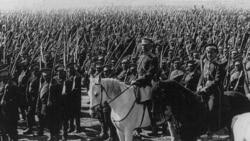 Russian troops in 1917