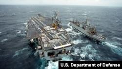 美國羅斯福號航空母艦(美國國防部照片)
