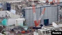 Bangunan reaktor No.3 di PLTN Fukushima Daiichi tanggal 18 Juli 2013 yang lalu (Foto: dok). TEPCO mengakui bahwa sebagian air yang digunakan untuk mendinginkan reaktor ini bocor dan dikhawatirkan akan menimbulkan dampak pencemaran radio aktif di wilayah ini.