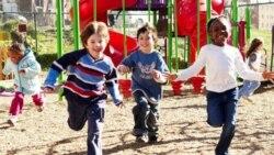 Children at a KaBOOM playground in Washington