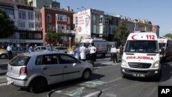 انفجار در شهر استانبول ترکیه