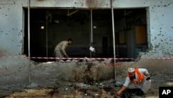 Ledakan bom bunuh diri di stadion sepakbola di Pakistan