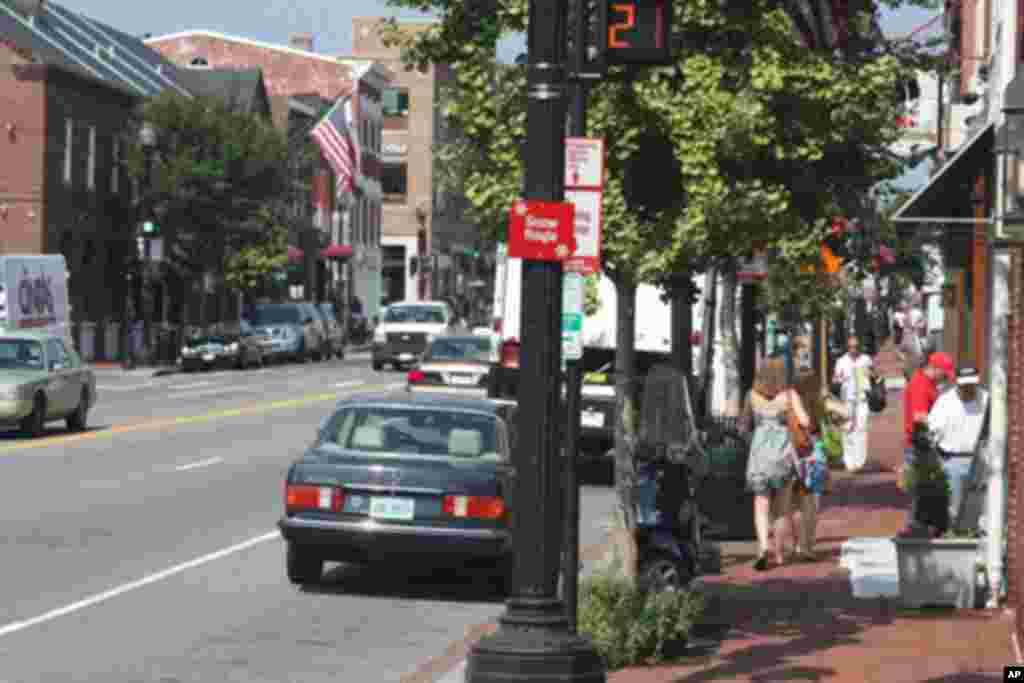 乔治城的街头