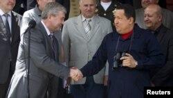 Chávez se jactó de los beneficios que generan las relaciones con Bielorrusia, que él estableció.
