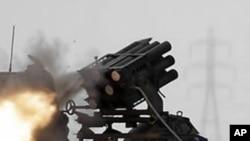 利比亞反政府軍在城市米蘇拉塔取得進展