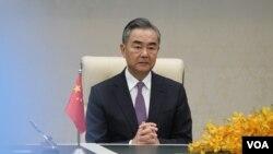 တရုတ္ႏုိင္ငံျခားေရး၀န္ႀကီး Wang Yi။ (ေအာက္တိုဘာ ၁၂၊ ၂၀၂၀)