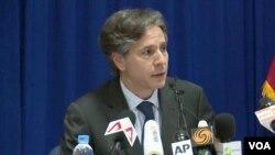 Vice secretartio de Estado de EE.UU., Antony Blinken.