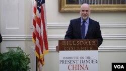 布莱恩·肯尼迪Brian Kennedy2019年11月14日主持了有关美国联邦退休基金采纳中国公司的讨论会