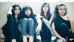 The Like Me's band.