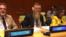 CHP Milletvekili Prof. Dr. Aytuğ Atıcı, Birleşmiş Milletler 71. Genel Kurul öncesinde yapılan mültecilerle ilgili hazırlık toplantısında Türkiye'yi temsil etti