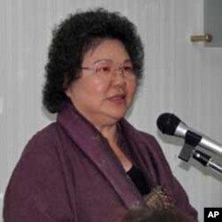 陈菊接下代理党主席职务后发表讲话