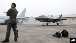 지난 1일 한국 공군이 '제 71회 국군의 날'을 맞아 미국산 F-35A 스텔스 전투기를 공개했다.