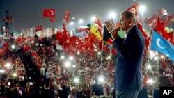 Shugaban Turkiyya Recep Tayyip Erdogan