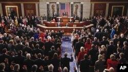 美國新一屆國會舉行首次會議
