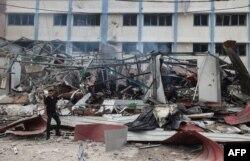 حماس نے اسرائیل کو مسجد اقصیٰ کے کمپاؤنڈ سے فورسز کو واپس نہ نکالنے کی صورت میں راکٹ حملوں کی دھمکی دی تھی۔