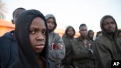 Muhaajiriin ku sugan Libya