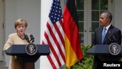 La canciller alemana Angela Merkel tendrá la oportunidad de exponer al presidente Barack Obama los planes a discutir con Rusia en Bielorrusia el próximo miércoles.