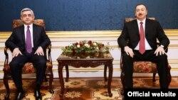 Serj Sarkisyan ve İlham Aliyev en son geçen yıl Viyana'da biraraya gelmişti