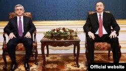 Meeting between President of Armenia Serzh Sargsyan and President of Azerbaijan Ilham Aliyev, Vienna, Austria, November 19, 2013