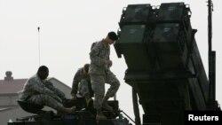 Ảnh minh họa: Binh sĩ Mỹ tại căn cứ không quân ở Osan, phía nam Seoul.