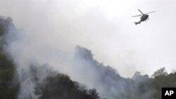 بھارت کا فوجی ہیلی کاپٹرگر کر تباہ، 12ہلاک