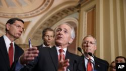 Senator Bob Corker dan anggota Kongres AS (14/4/15)