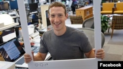 Facebook founder Mark Zuckerberg posted this photo to mark the 500 millionth Instagram user.