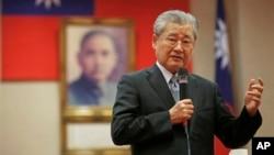 台湾行政院长毛治国向外国媒体表达了台湾对加入亚投行抱有兴趣