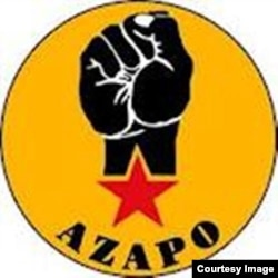 The official symbol of the Azania People's Organization. (Courtesy of AZAPO)