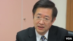 台灣外交部亞太司副司長 周穎華 (美國之音記者張永泰拍攝)