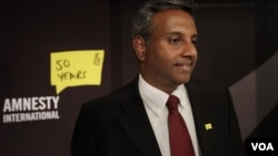 Salil Shetty, Sekjen Amnesty International, London (Foto: dok).
